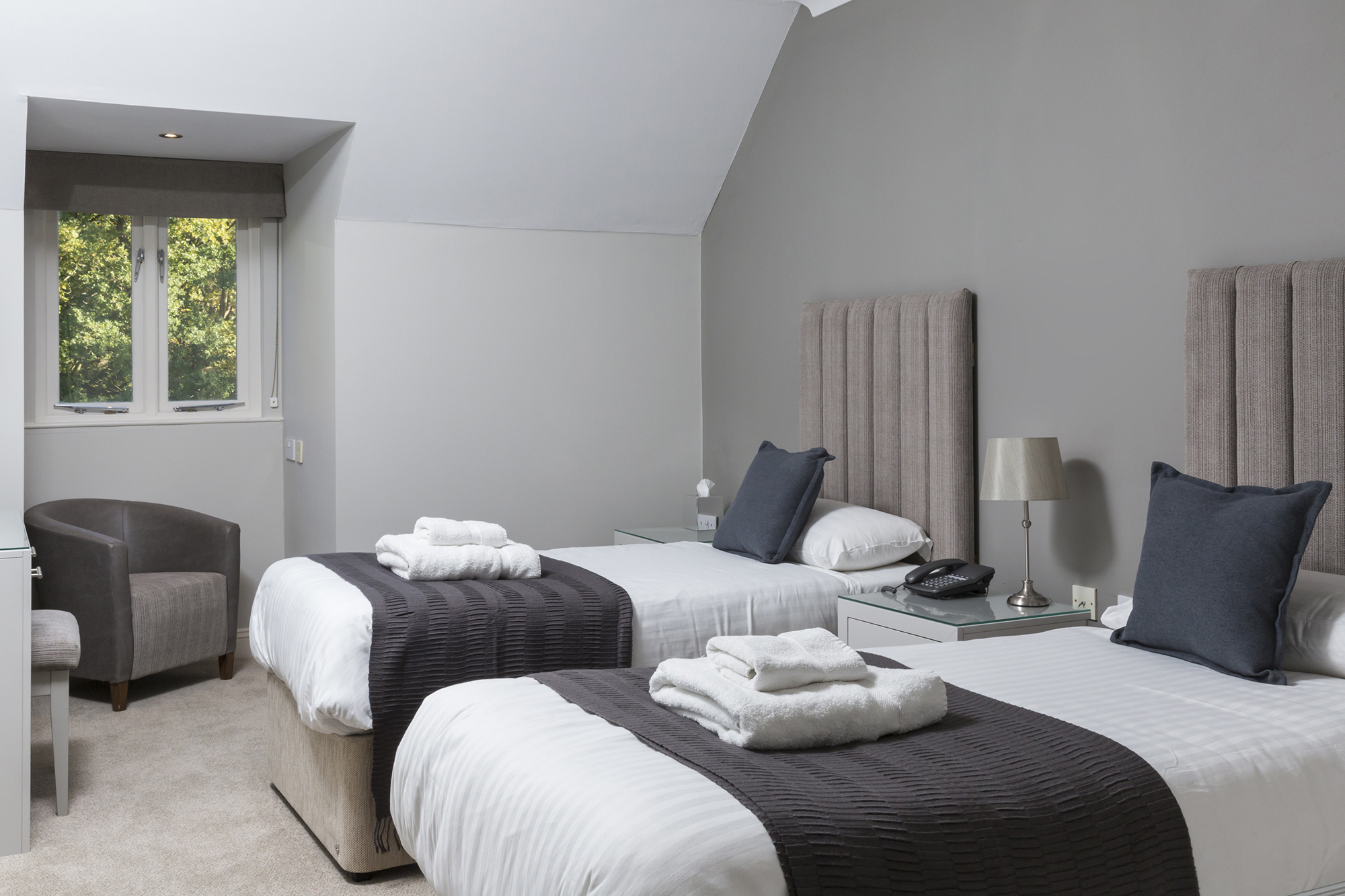Crown Chislehurst Twin Room